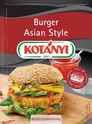 KOTÁNYI Asia Veggie Burger - 25 g
