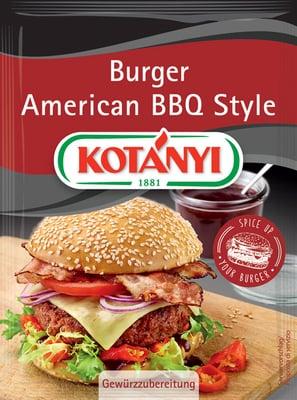 KOTÁNYI Burger American BBQ Style - 25 g