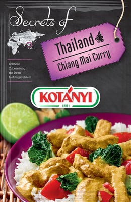 KOTÁNYI Chiang Mai Curry Secrets of Thailand - 20 g
