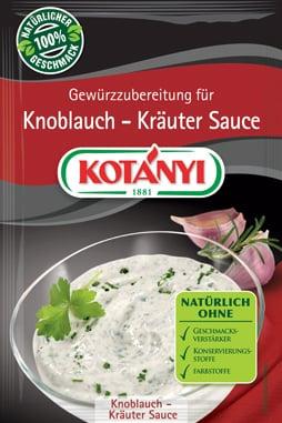 KOTÁNYI Knoblauch-Kräuter Grillsauce - 13 g