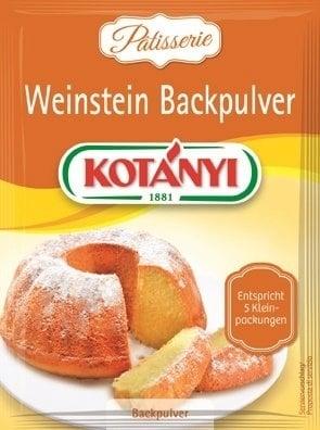 KOTÁNYI Patisserie Weinstein Backpulver - 40 g