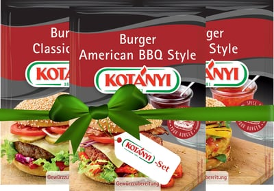 KOTÁNYI Ran an die Burger! - Set - Burger-Set