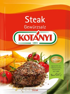 KOTÁNYI Steak Gewürzsalz (Brief) - 42 g